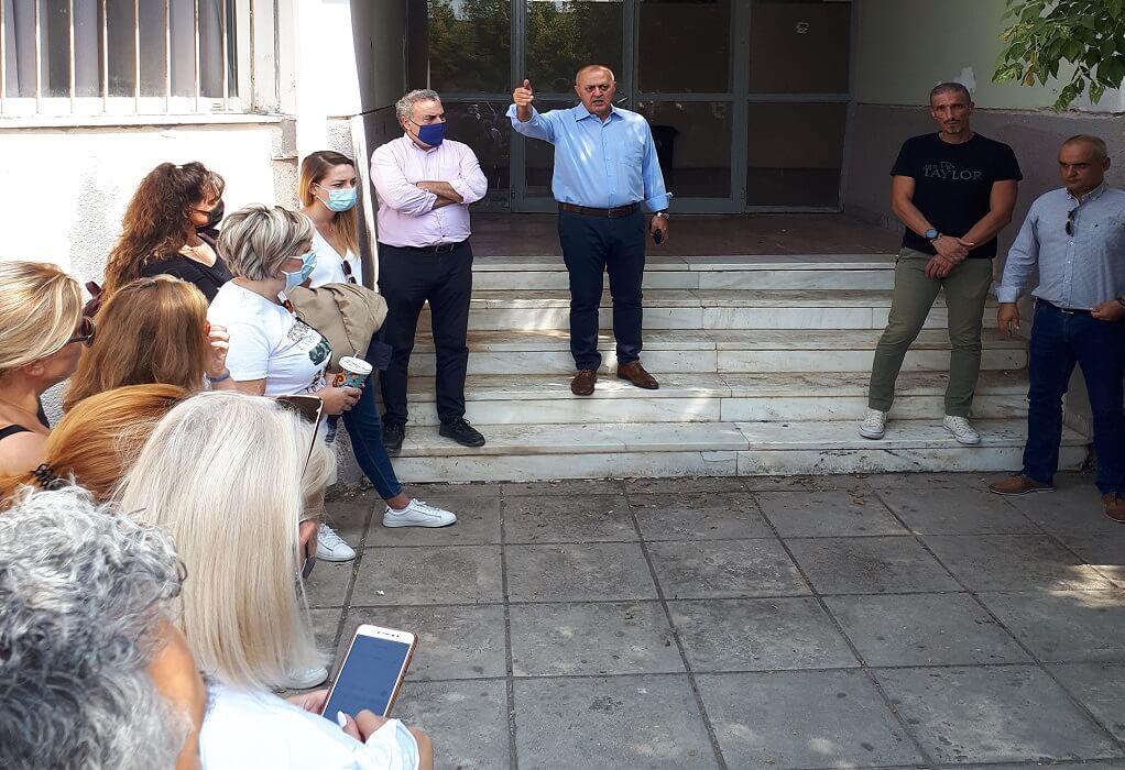 Λαγκαδάς: Συγκέντρωση διαμαρτυρίας για το κτιριακό αύριο στην αυλή των Γυμνασίων