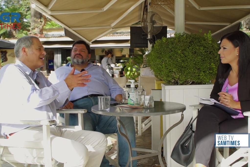 """Οι Θ. Τζήμερος και Φ. Κρανιδιώτης, για τη """"Δημιουργία"""" στο GRTimes.gr (VIDEO)"""