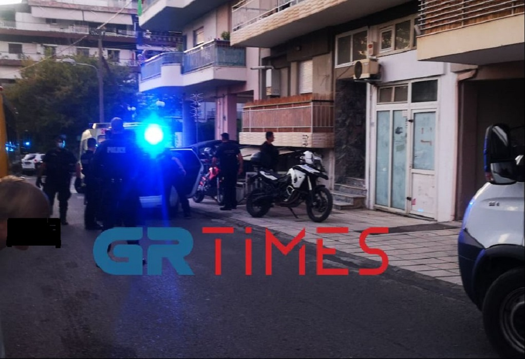 Θεσσαλονίκη: Αιματηρό επεισόδιο στην Τριανδρία (ΦΩΤΟ – VIDEO)