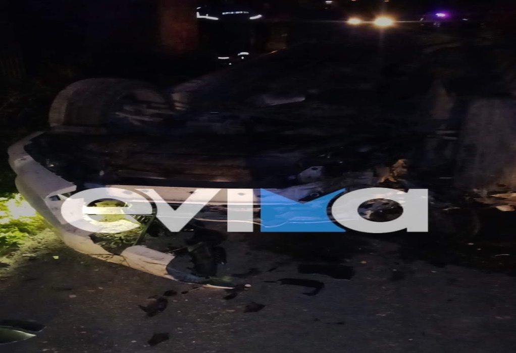 Εύβοια: Τροχαίο δυστύχημα με δύο νεκρούς στα Ψαχνά
