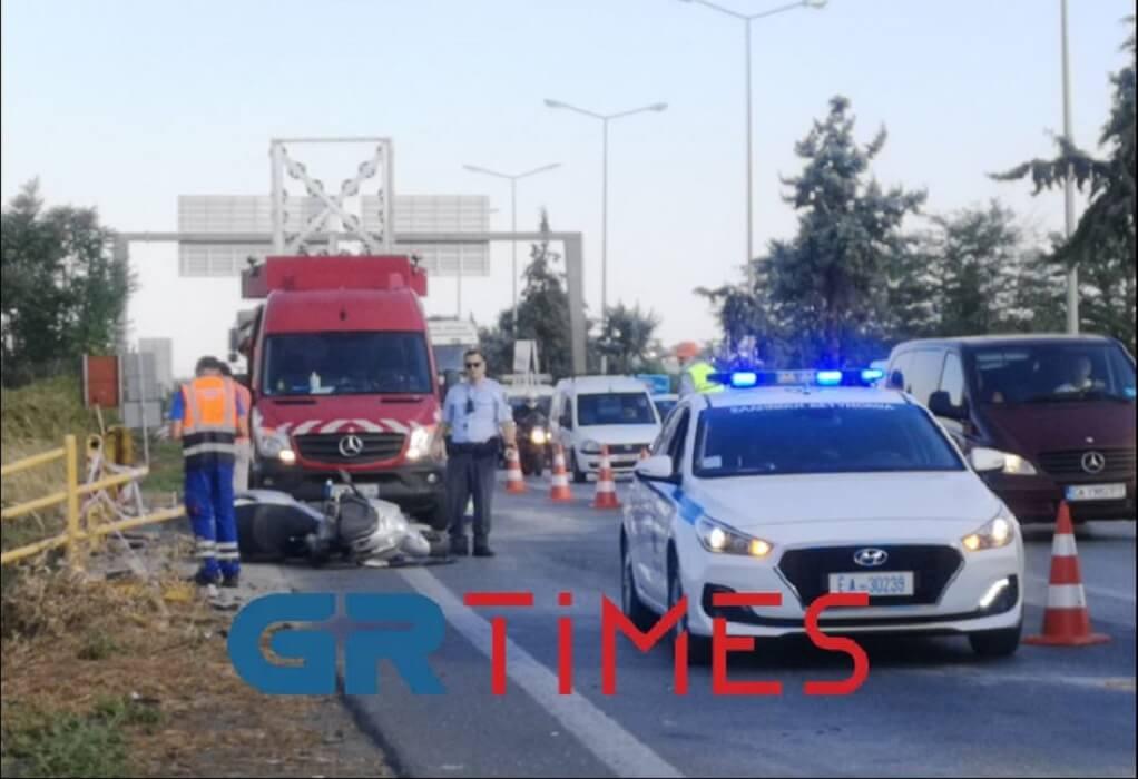Μουδανιών: Τρεις τραυματίες μετά από τροχαίο – Μποτιλιάρισμα στο ρεύμα εξόδου (ΦΩΤΟ-VIDEO)