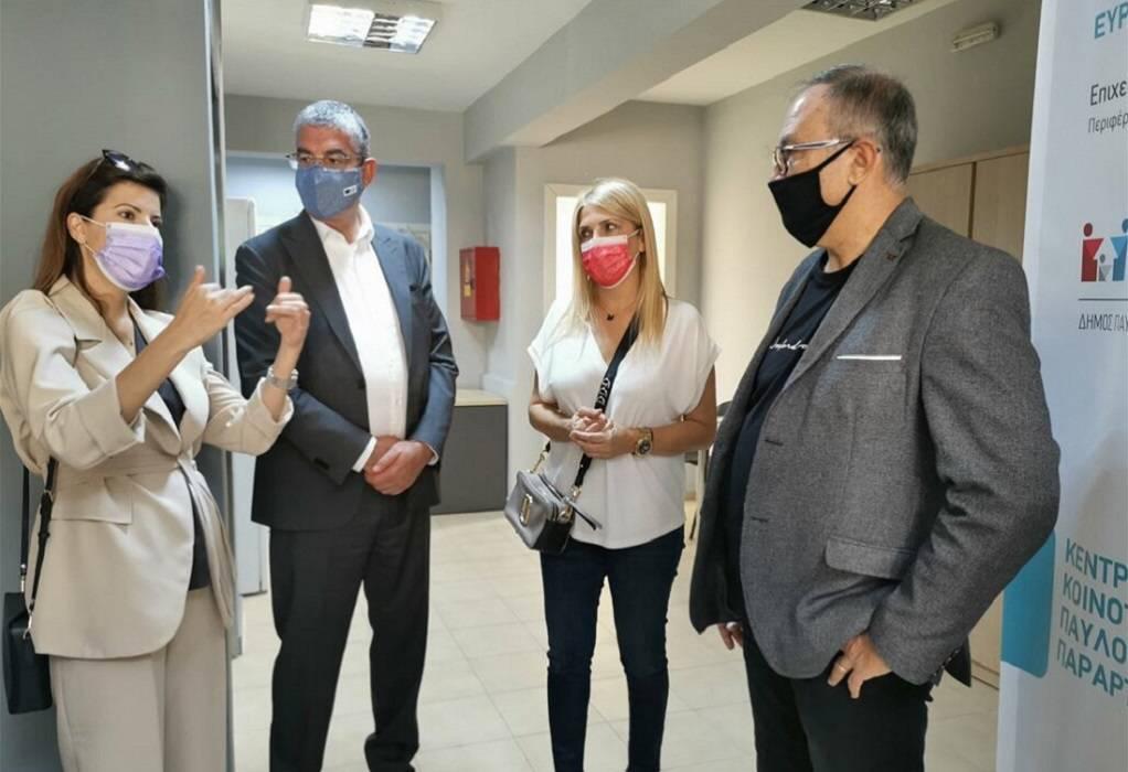 Δήμος Παύλου Μελά: Στο Κέντρο Νεότητας Νικόπολης ο Γ. Τσακίρης