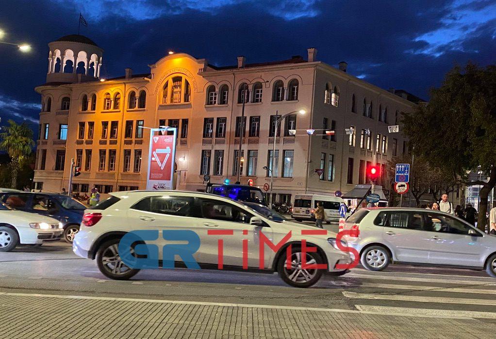 Θεσσαλονίκη: Κλειστή η Τσιμισκή – Κυκλοφοριακό κομφούζιο στο κέντρο (ΦΩΤΟ)