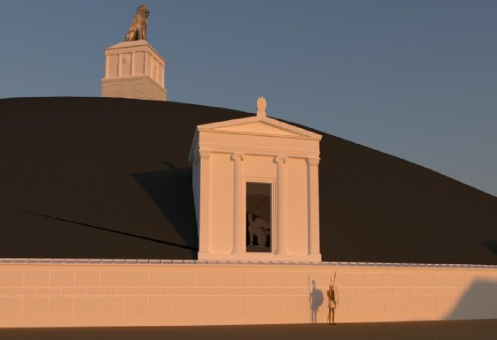 Αμφίπολη: Το ταφικό μνημείο αποκτά προστατευτικό κέλυφος και διαδρομές επίσκεψης (ΦΩΤΟ-VIDEO)