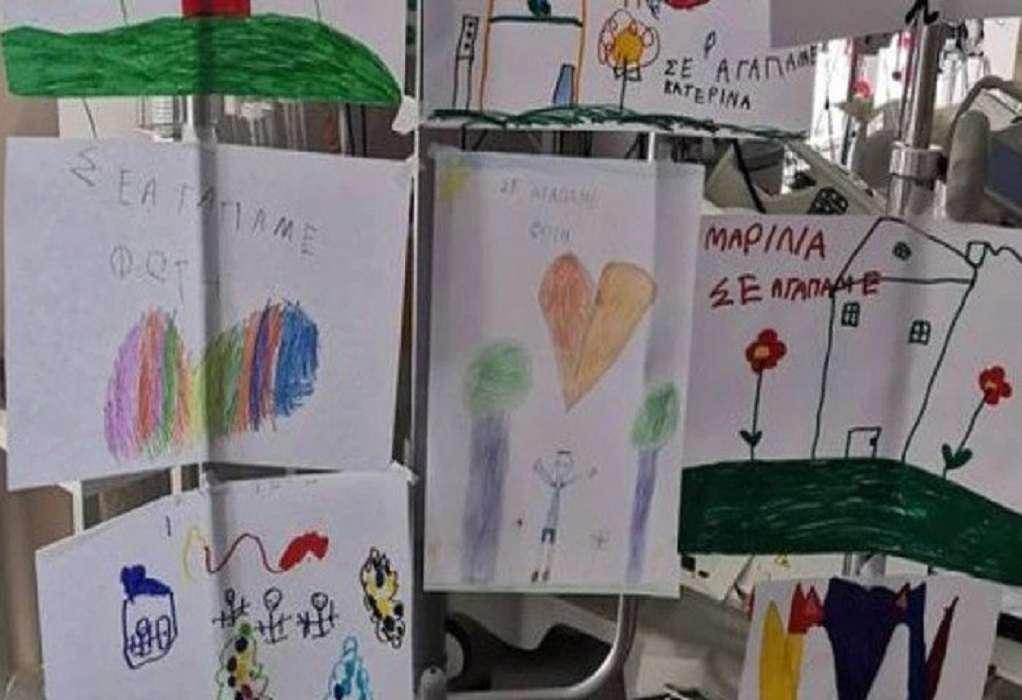 Πάτρα – Ατύχημα με καρτ: Βούρκωσε από τις ζωγραφιές των συμμαθητών του ο μικρός Φώτης