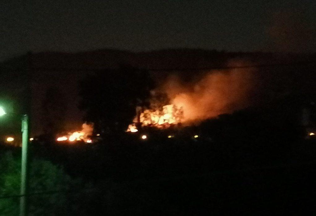 Αττική: Φωτιά στα Νεόκτιστα Ασπροπύργου