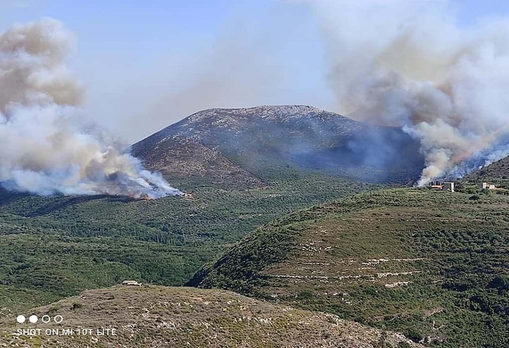 """Έβρος: Φωτιά κοντά σε πεδίο βολής στον """"Ψηλό Στάλο"""""""