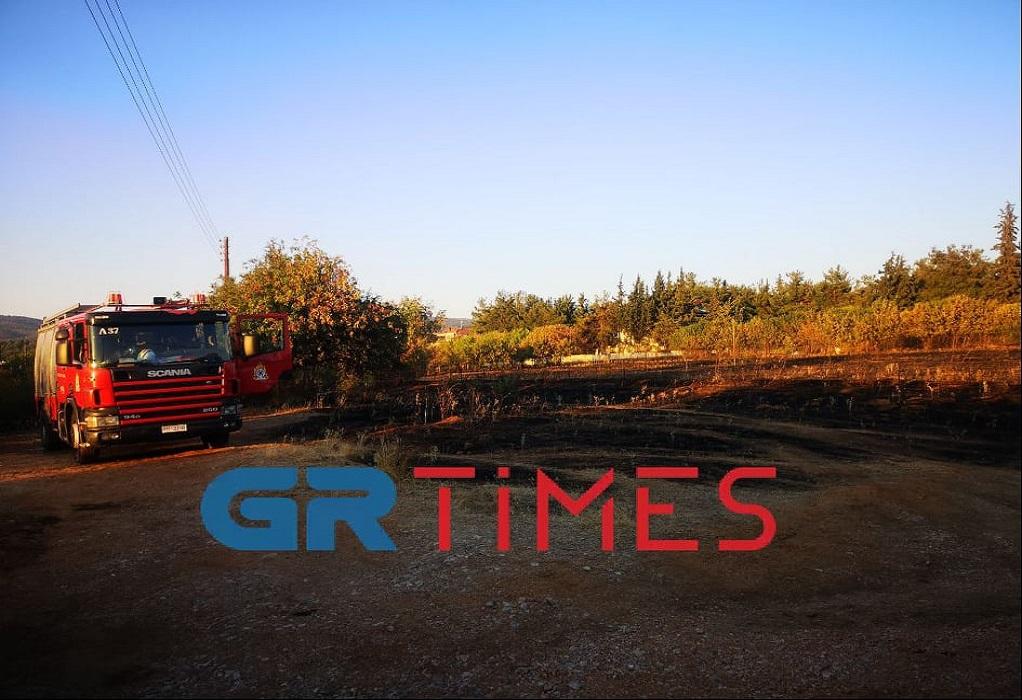 Θεσσαλονίκη: Άμεση η επέμβαση της πυροσβεστικής σε φωτιά στη Θέρμη (ΦΩΤΟ-VIDEO)