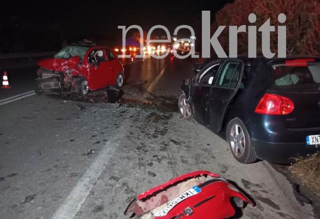 Χανιά: Τροχαίο με δύο νεκρούς και πέντε τραυματίες-Ανάμεσά τους ένα βρέφος (ΦΩΤΟ)