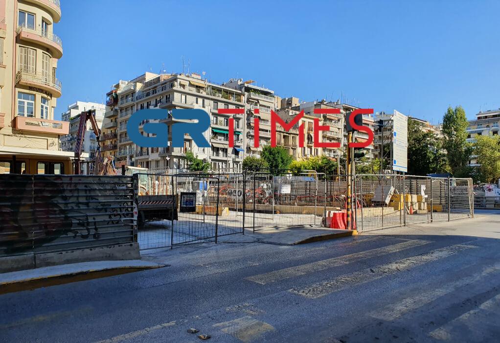"""Μετρό Θεσσαλονίκης: Τέλος 2021, φεύγει η νότια κατάληψη του σταθμού """"Αγ.Σοφία"""" (ΦΩΤΟ+VIDEO)"""