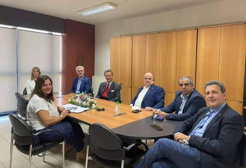 ΓΣΕΒΕΕ: Συνάντηση με τον πρόεδρο της SMEunited