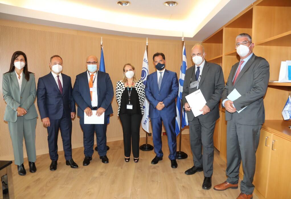 Μνημόνιο συνεργασίας του ΣΕΒ με την Ελληνική Αναπτυξιακή Τράπεζα