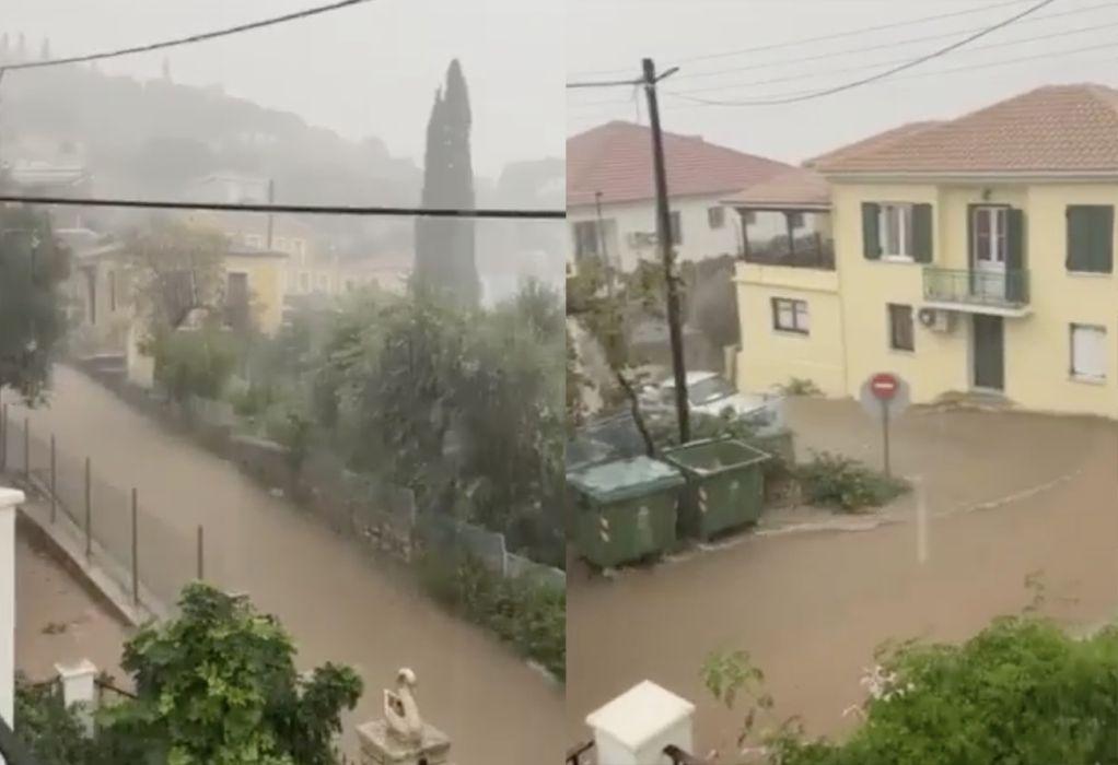 Ο «Μπάλλος»… έπνιξε την Ιθάκη – Πού καταγράφηκαν τα υψηλότερα ύψη βροχής