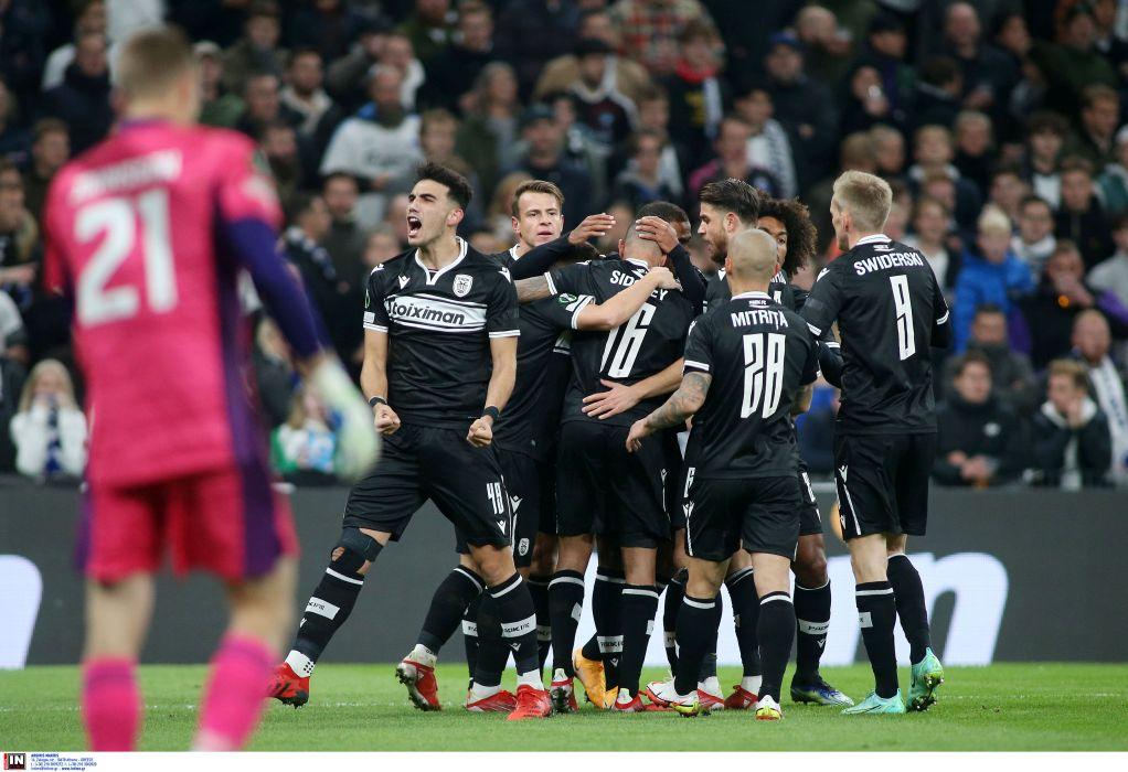 Απόδραση του ΠΑΟΚ από την Κοπεγχάγη: 1-2 και πρώτος στον όμιλο