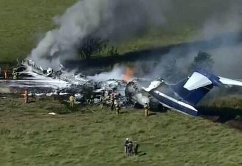 Συνετρίβη αεροσκάφος με 21 επιβαίνοντες στο Τέξας (VIDEO)