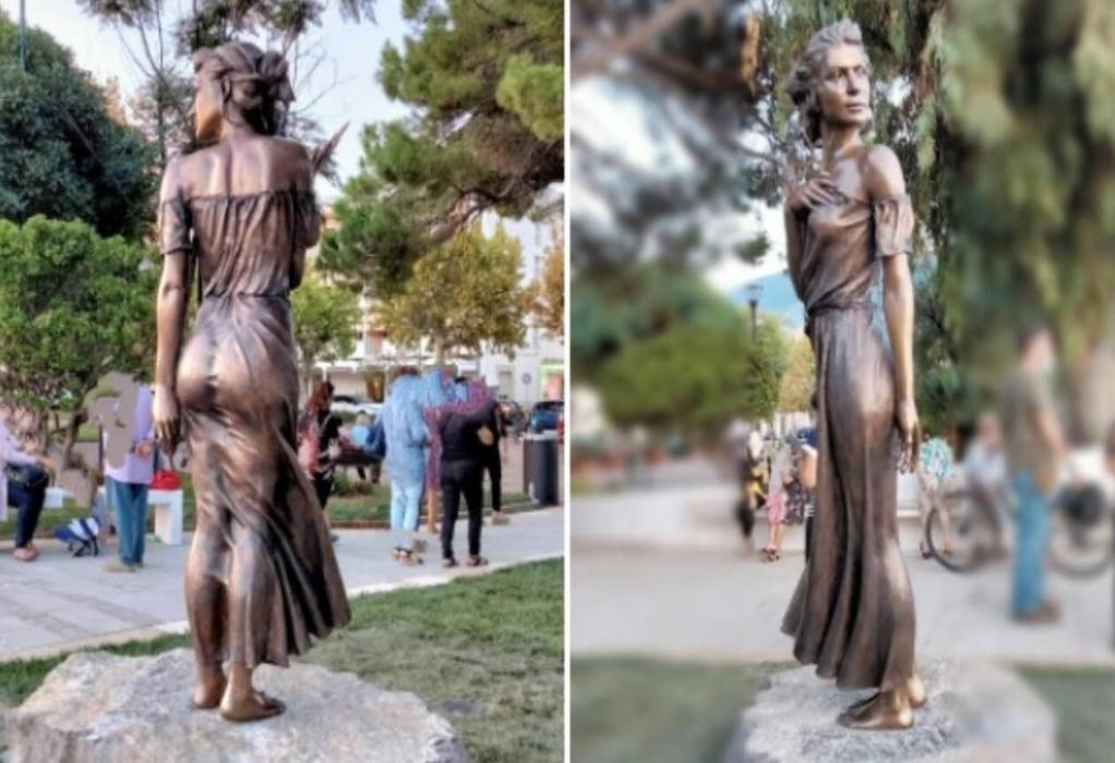 Ένα σέξι γυναικείο άγαλμα έχει προκαλέσει σάλο στην Ιταλία