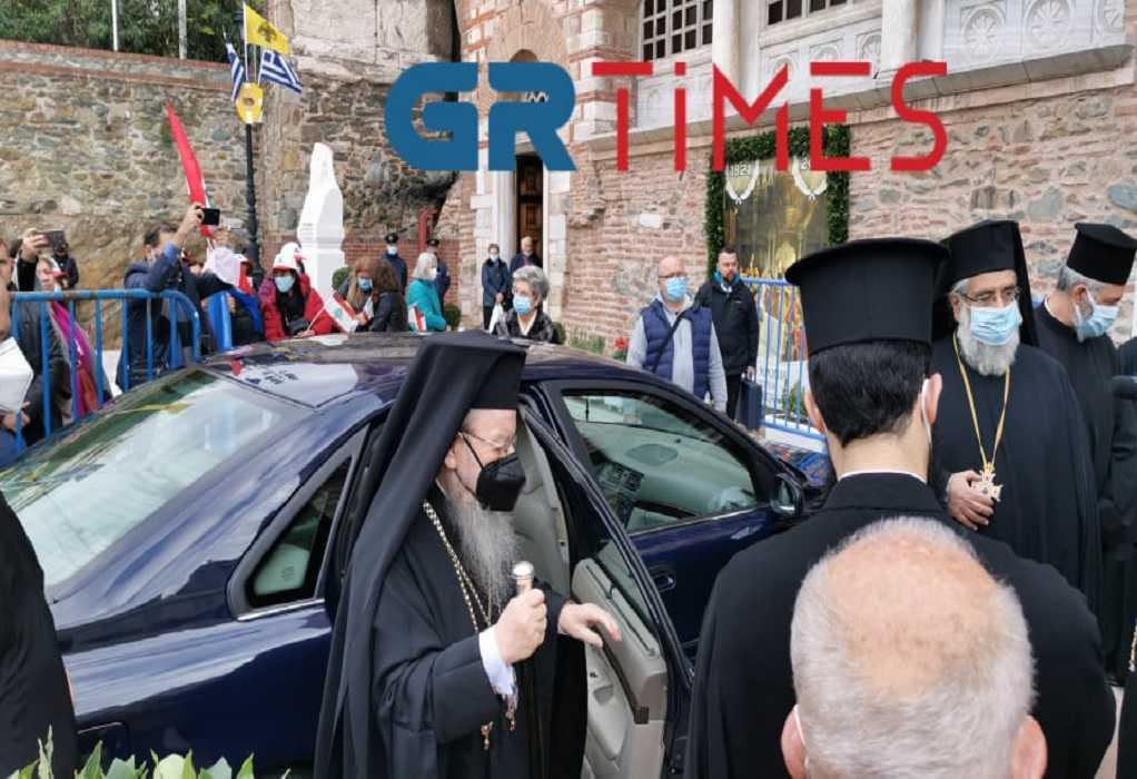 Θεσσαλονίκη: Έφτασε στον Ι.Ν. Αγίου Δημητρίου ο Μητροπολίτης Άνθιμος (ΦΩΤΟ – VIDEO)