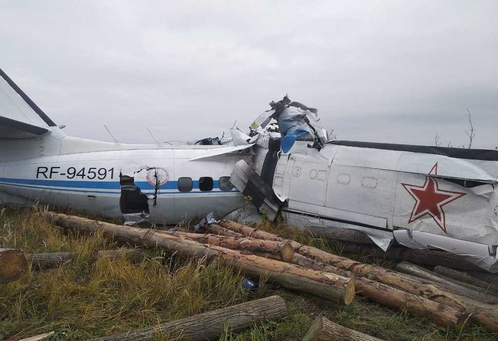 Συντριβή αεροσκάφους στη Ρωσία – 16 νεκροί