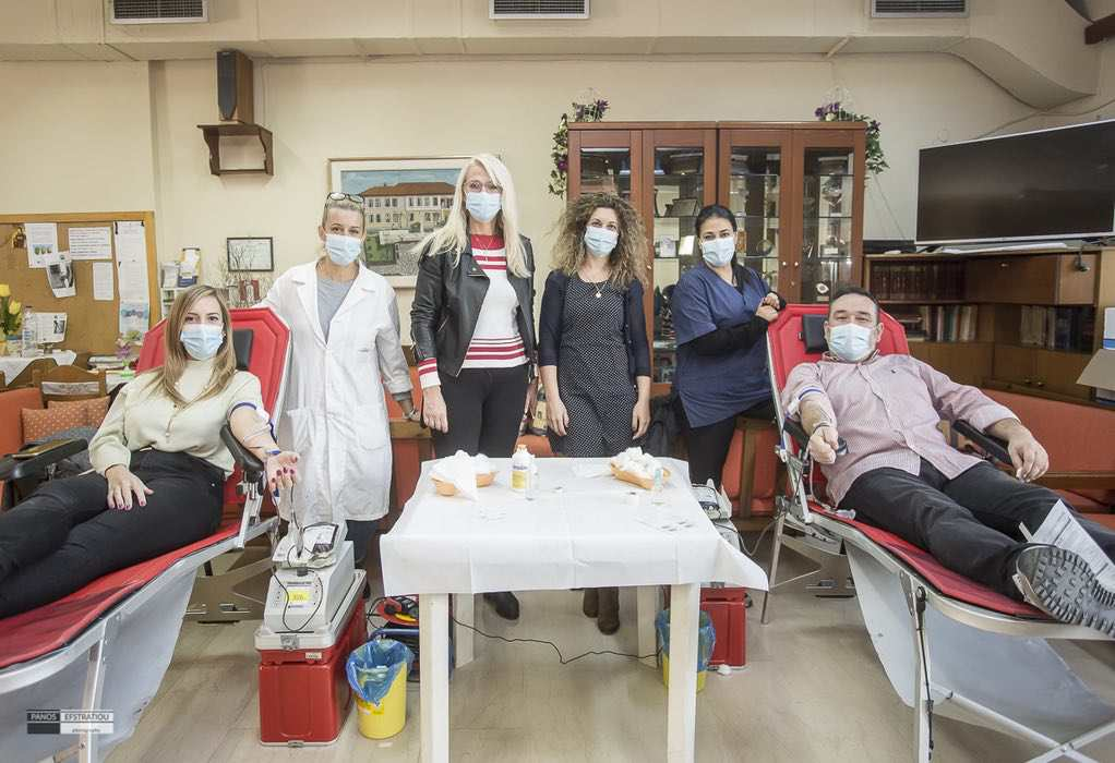 Δ. Πυλαίας-Χορτιάτη: Μεγάλη η ανταπόκριση των πολιτών στην Εβδομάδα εθελοντικής Αιμοδοσίας