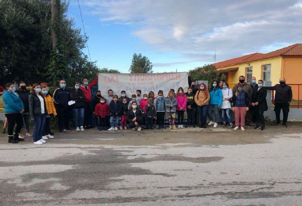 Αμμουλιανή: Σε απόγνωση οι γονείς για τη συγχώνευση του δημοτικού σχολείου