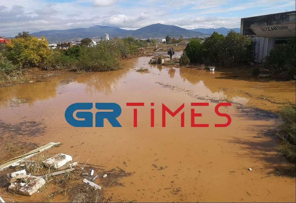 Έπεσε η στάθμη στον ποταμό Ανθεμούντα – Επί ποδός τα συνεργεία του Δήμου (VIDEO)