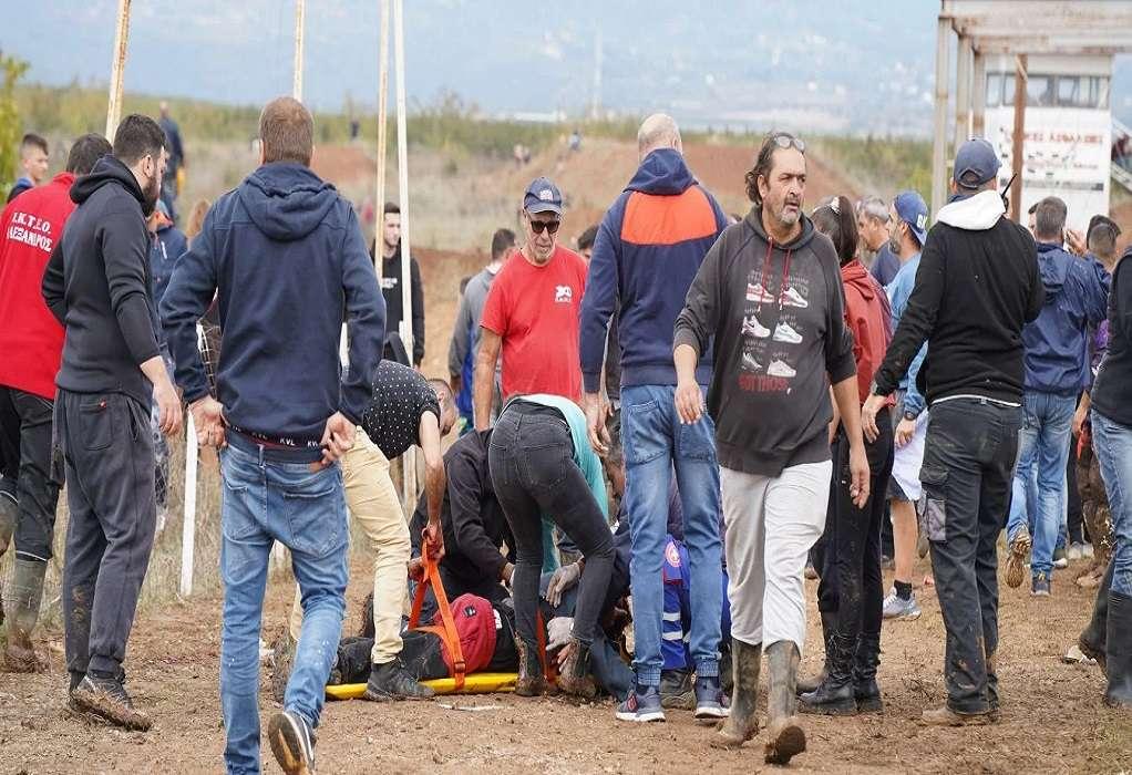 Γιαννιτσά: Τί λένε οι διοργανωτές για το ατύχημα στον αγώνα Motocross