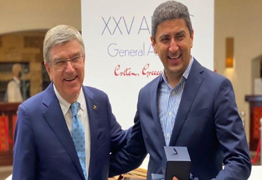 Αυγενάκης: «Τιμή για την Ελλάδα τα συγχαρητήρια των προέδρων ΔΟΕ και ANOC»
