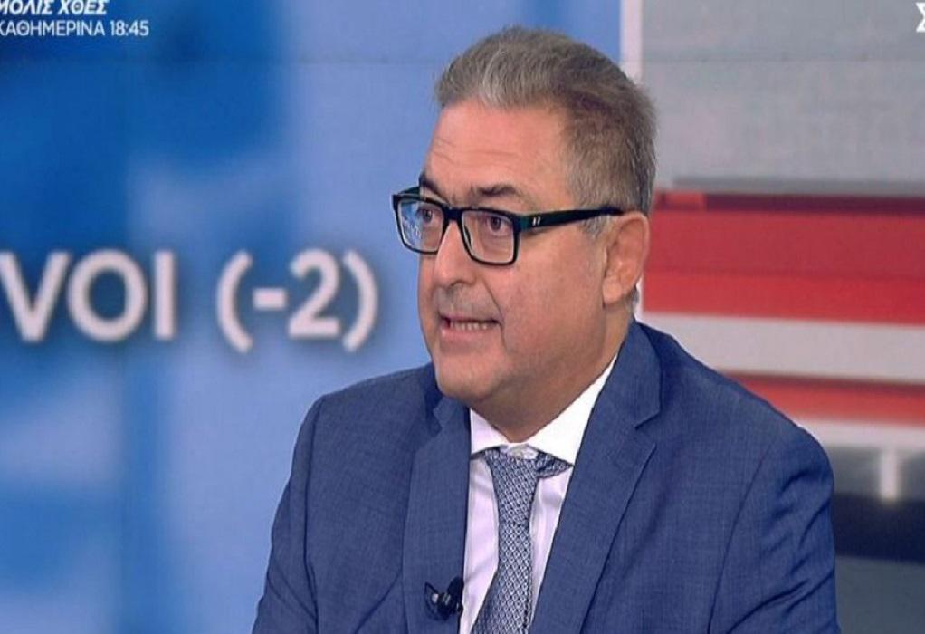 Βασιλακόπουλος: O εμβολιασμός αυξάνεται με πειθώ, υποχρεωτικότητα και μεγάλους περιορισμούς (VIDEO)