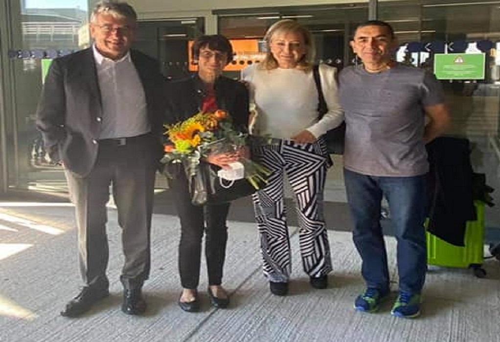 Στη Θεσσαλονίκη για το βραβείο Αυτοκράτειρα Θεοφανώ οι επιστήμονες Ugur Sahin και η Ozlem Tureci