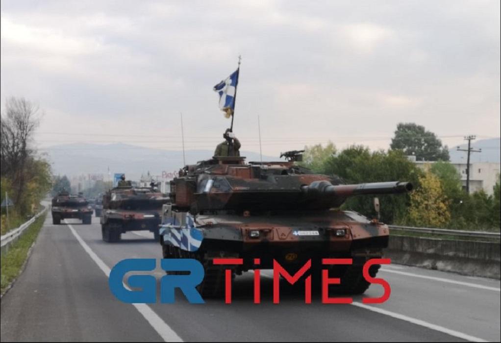 Κλειστή η Θεσσαλονίκης-Ν. Μουδανιών για τη δοκιμαστική παρέλαση (ΦΩΤΟ-VIDEO)