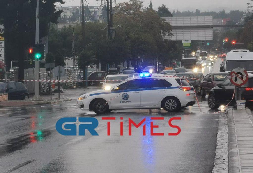 """""""Μπάλλος"""": Κυκλοφοριακό χάος στη Θεσσαλονίκη – Πού έχει διακοπεί η κυκλοφορία (ΦΩΤΟ)"""