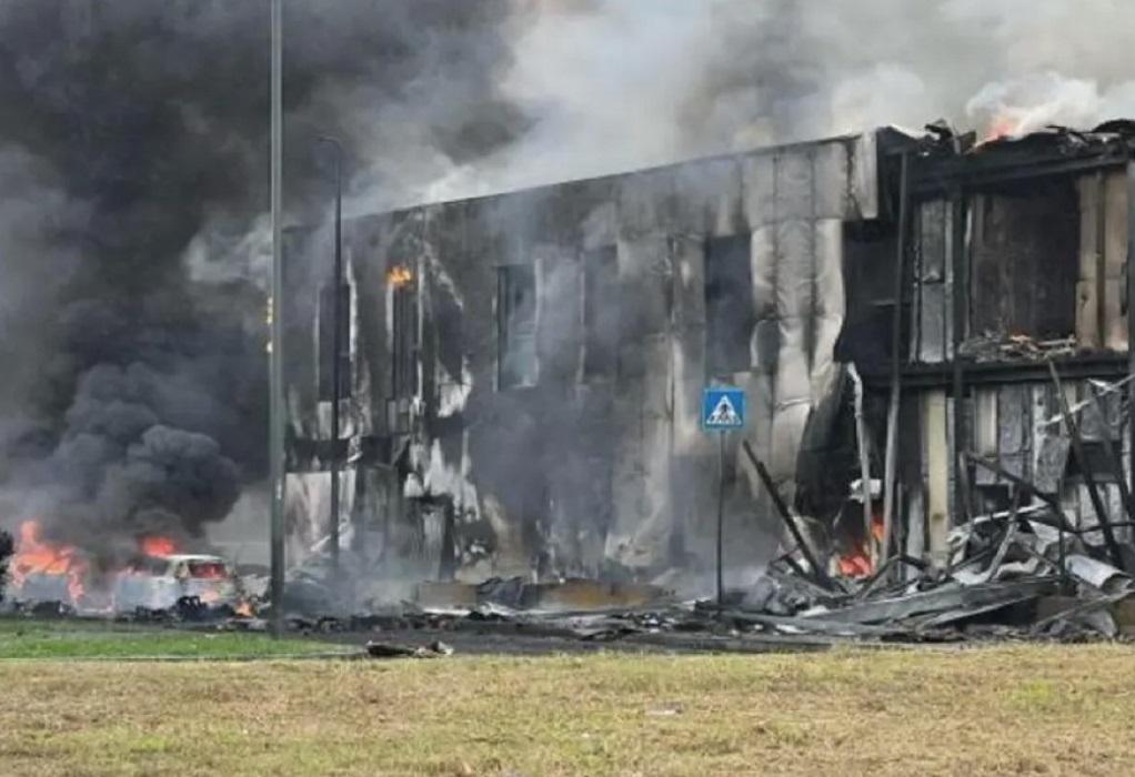 Ιταλία: Συντριβή αεροσκάφους στο Μιλάνο- Νεκροί οι 6 επιβαίνοντες (ΦΩΤΟ-VIDEO)