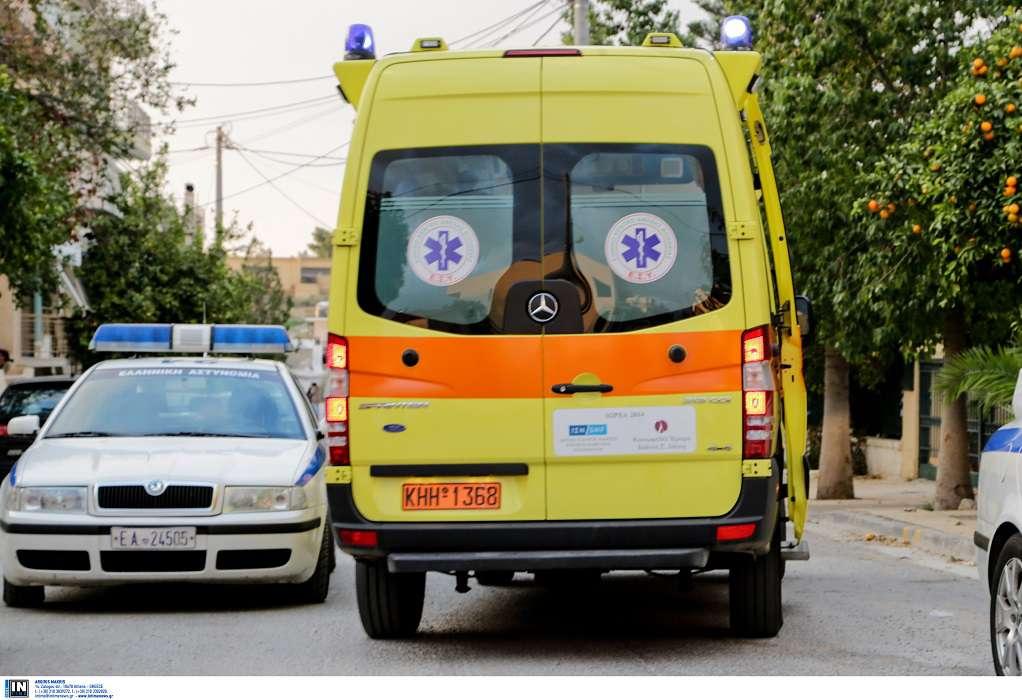 Έδεσσα: Τρέιλερ έπεσε σε στάση λεωφορείου – 3 τραυματίες