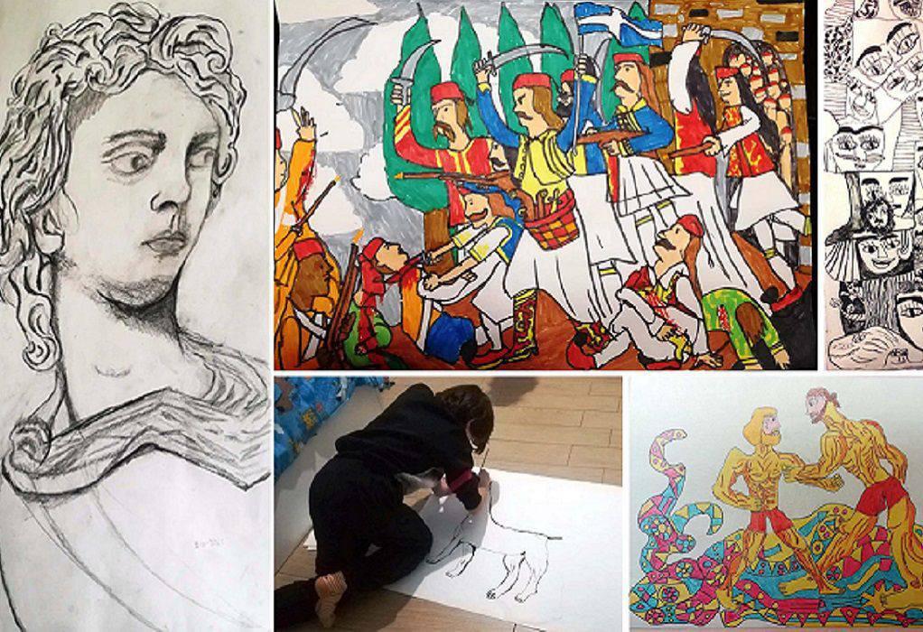 Ξάνθη: Η ζωγραφιά ενός 11χρονου κέρδισε ένα από τα πρώτα βραβεία των ΕΛΤΑ κι έγινε γραμματόσημο