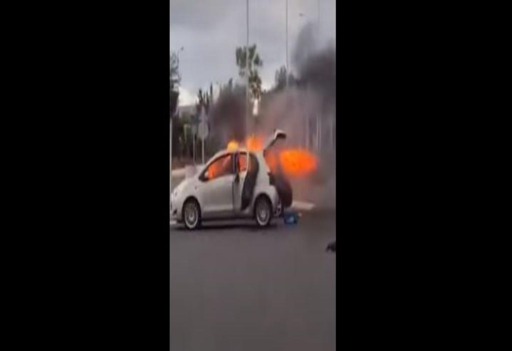 Ολυμπιακός – Παναθηναϊκός: Επεισόδια και καμένα αμάξια στη Μαλακάσα – Ένας τραυματίας (VIDEO)