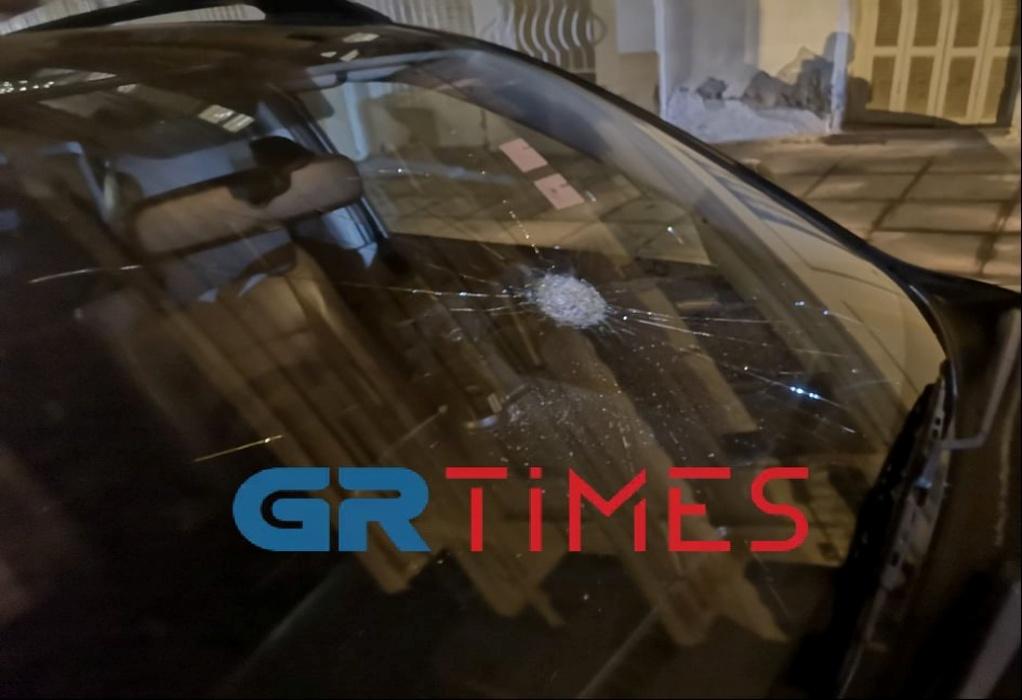 Θεσσαλονίκη: Ζημιές σε αυτοκίνητα από τα επεισόδια (ΦΩΤΟ)