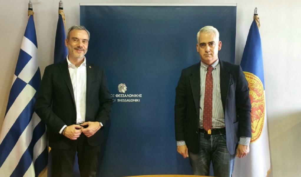 Συνάντηση Ζέρβα με τον Πρόεδρο του ΚΕΘΕΑ