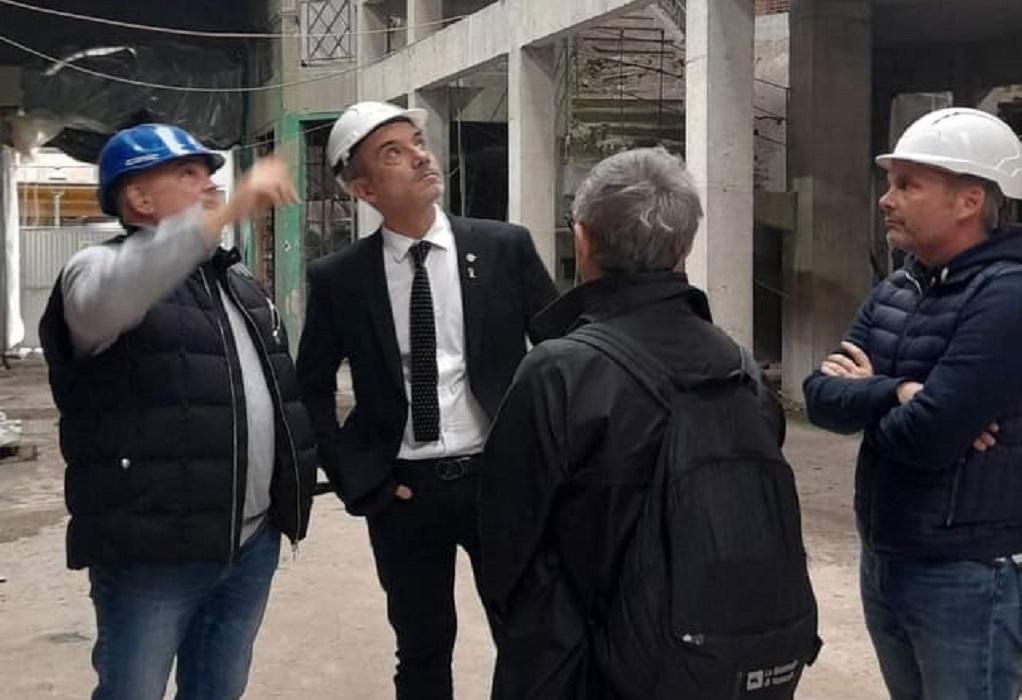 Θεσσαλονίκη: Στην «Αγορά Μοδιάνο» ξεναγήθηκε ο Κ. Ζέρβας