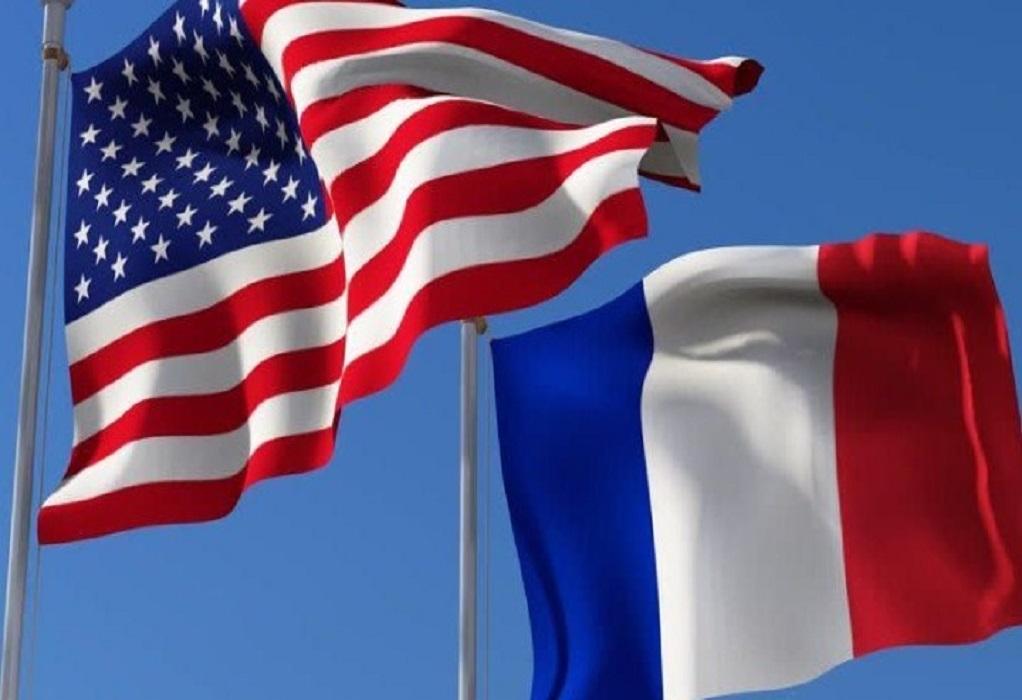 Γαλλία-ΗΠΑ: Οι δύο υπουργοί Εξωτερικών θα έχουν συνομιλίες στις 5 Οκτωβρίου