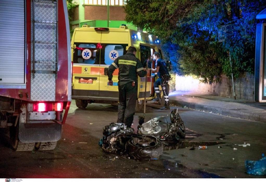 Θανατηφόρο τροχαίο στο Αιγάλεω: Νεκρός μοτοσικλετιστής μετά από σφοδρή σύγκρουση (ΦΩΤΟ-VIDEO)