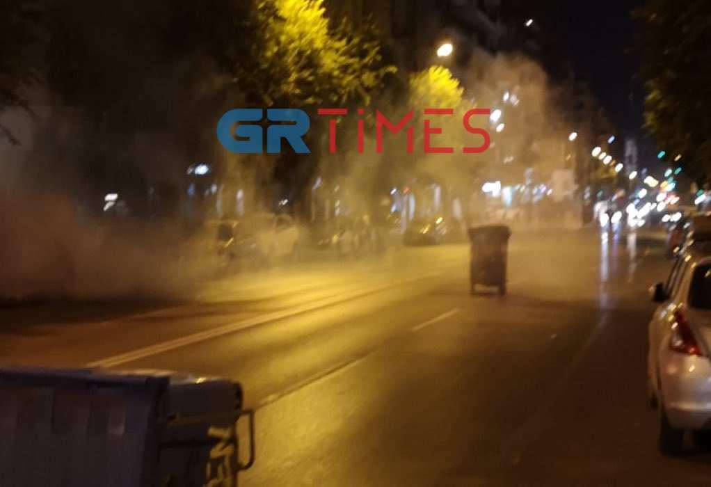 Θεσσαλονίκη: Συνελήφθησαν τέσσερα άτομα για τα χθεσινά επεισόδια – Τι λέει η ΕΛΑΣ