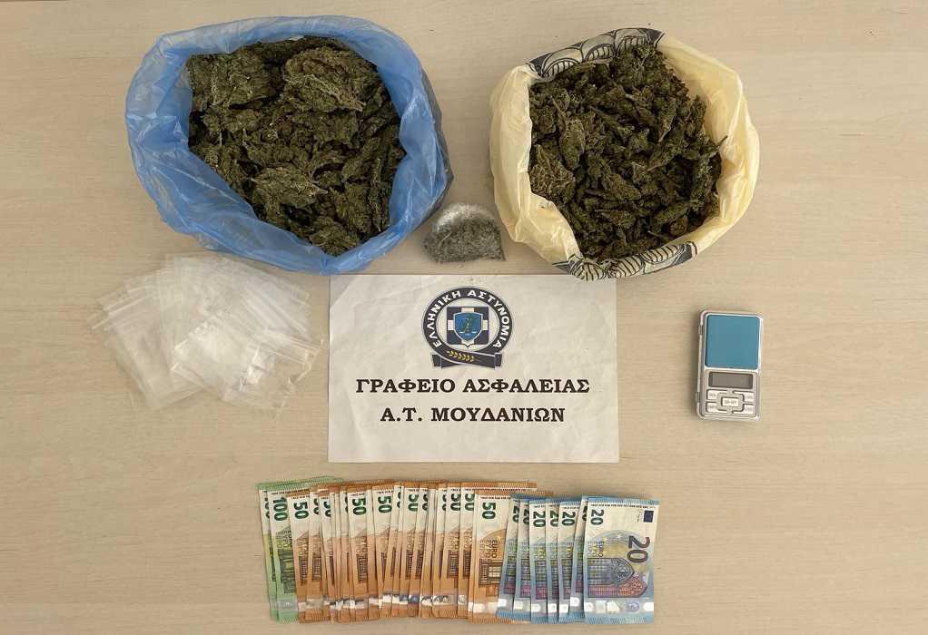 Θεσσαλονίκη: Είχε στο σπίτι της πάνω από μισό κιλό κάνναβη