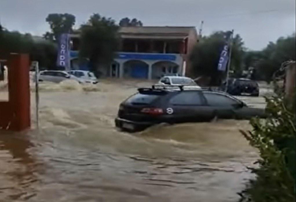 Σε κατάσταση εκτάκτου ανάγκης η Κέρκυρα λόγω κακοκαιρίας