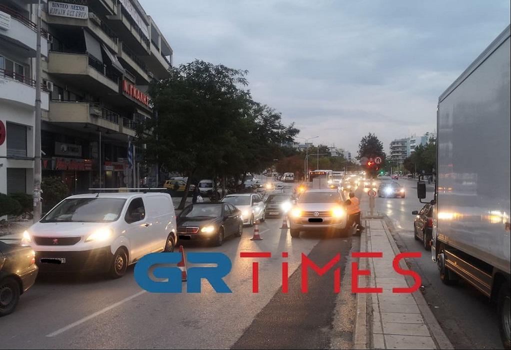 """Θεσσαλονίκη: Κυκλοφοριακό """"έμφραγμα"""" σε Περιφερειακή, Μουδανιών και Καραμανλή (ΦΩΤΟ-VIDEO)"""