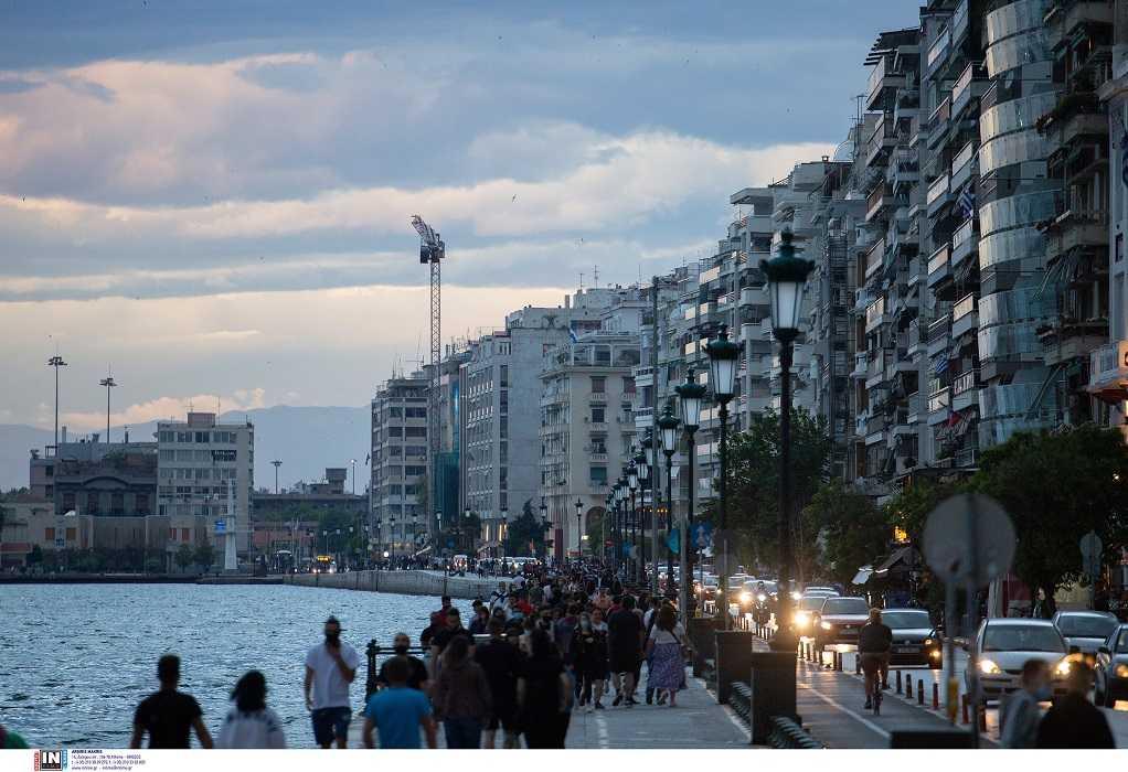 Επιδημιολογικός χάρτης: 352 νέα κρούσματα στη Θεσσαλονίκη – 413 στην Αττική