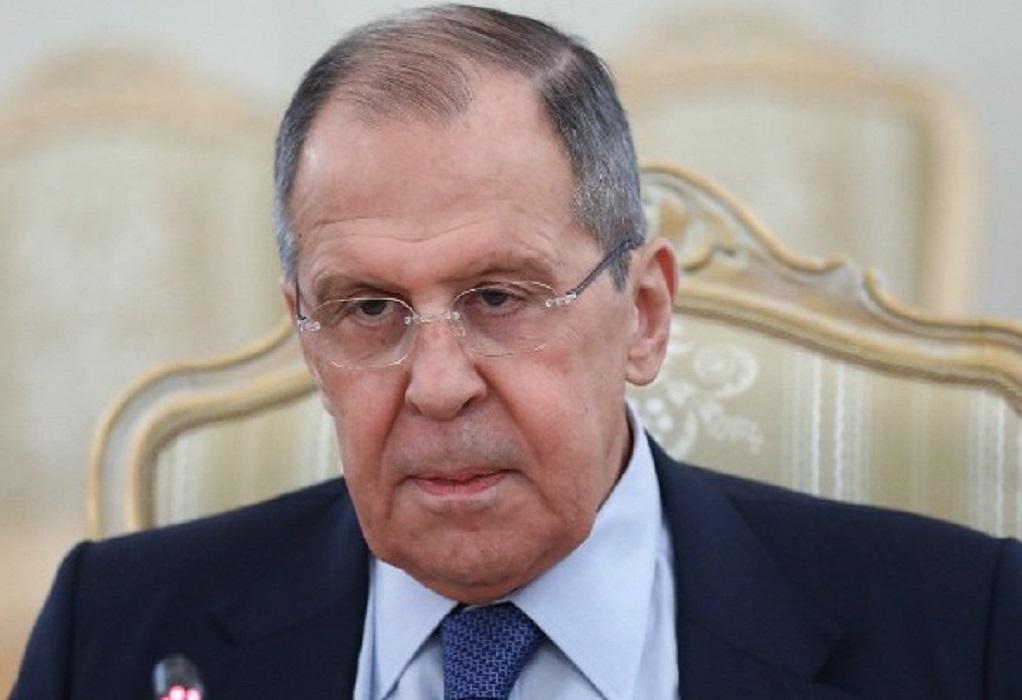 Λαβρόφ: Να αποφευχθεί η πολιτικοποίηση της κρίσης του φυσικού αερίου