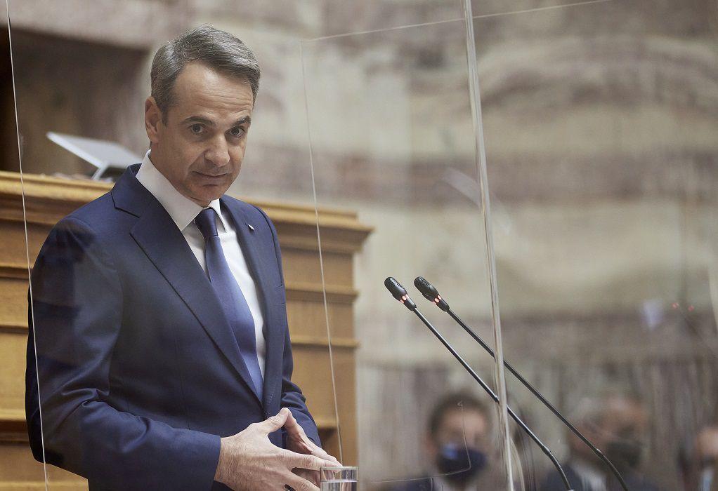 Μητσοτάκης: Η Ελλάδα του 2021 έχει τη δυνατότητα να κάνει επενδύσεις στις Ένοπλες Δυνάμεις
