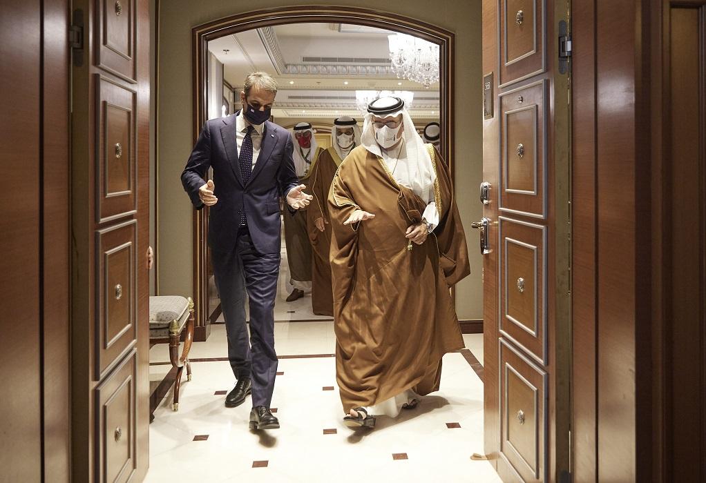 Επενδύσεις και Τουρισμός στον πυρήνα των επαφών του πρωθυπουργού στο Ριάντ