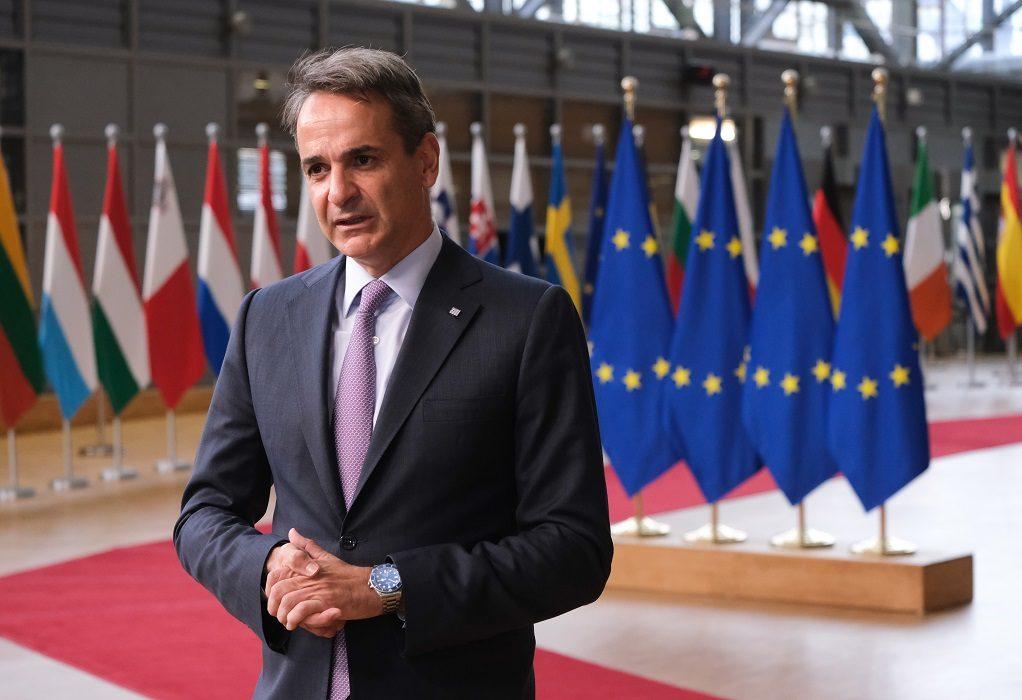 Τη γεωπολιτική διάσταση του ενεργειακού ανάδειξε ο πρωθυπουργός στο Ευρωπαϊκό Συμβούλιο