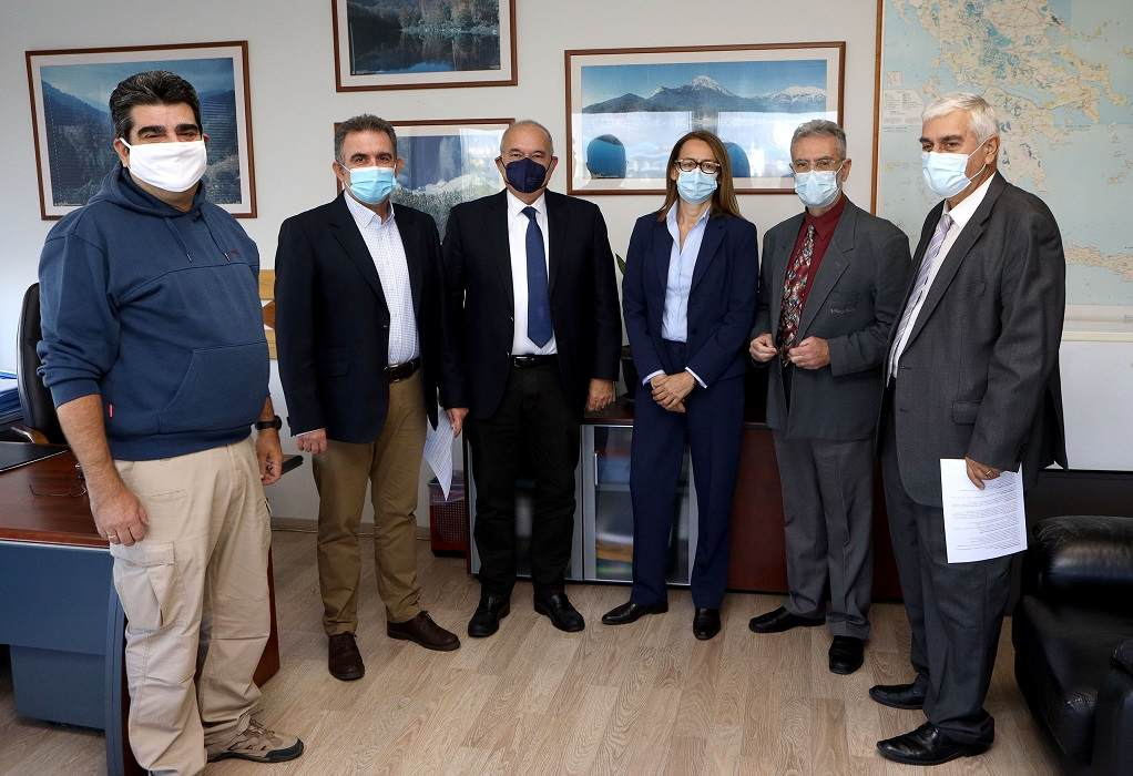 H Motor Oil υιοθετεί το δασικό εκκοκκιστήριο της Αμυγδαλέζας